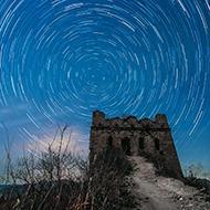 榆木岭长城之夜